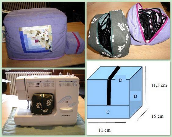 Ma Tambouille Créative: Tuto trousse pour ranger les pédales des machines à coudre ou surjeteuse