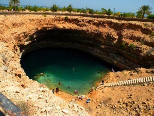 Nice swimming hole.