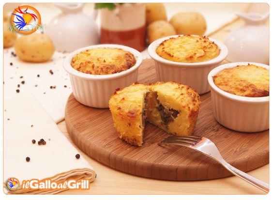 Sformatini di Patate e Funghi: Food Food, Le Portate, Second Courses, Potato, All, Xmas Lunch