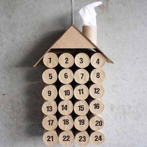 Adventskalender-Idee: Heimeliges Adventshaus