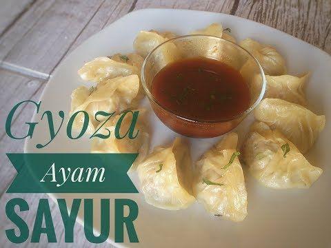 Resep Gyoza Ayam Enak Gyoza Dumplings Gyoza Japanese Gyoza Cooking Youtube Gyoza Japanese Gyoza Food Recipies