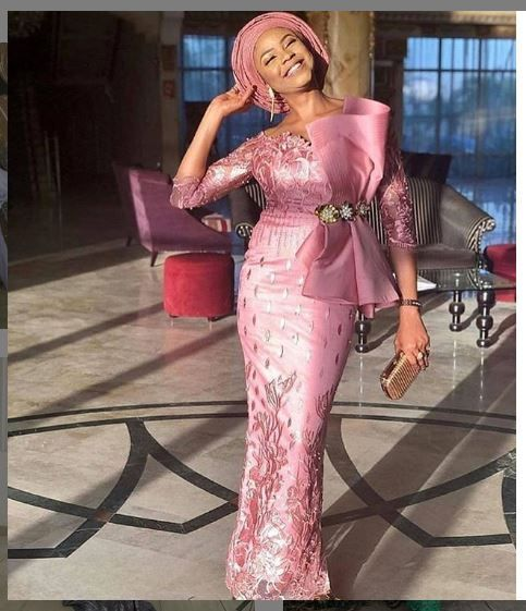 2019 Inspiring Asoebi Gown Styles