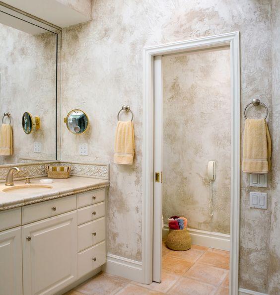Pinterest the world s catalog of ideas for Venetian plaster bathroom ideas