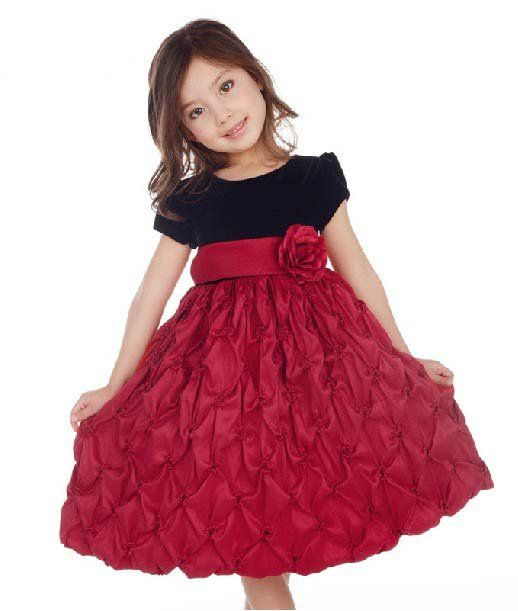 Euro style! cheap flower girl dress kids Princess TuTu perform ...