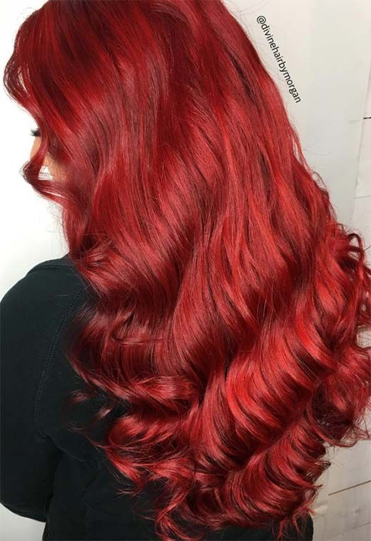 63 Hot Red Hair Color Shades To Dye For Red Hair Dye Tips Ideas Dyed Red Hair Red Hair Color Red Hair Color Shades