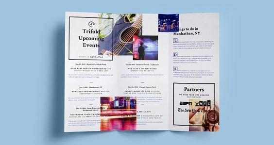 Costum Bi Fold Brochure Template LTheme Pinterest Brochure - half fold brochure template