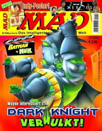 MAD #118 - Dark Knight VerHulkt!
