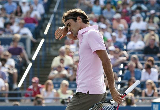 Roger Federer at Rogers Cup.
