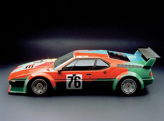 Andy Warhol's BMW from the BMW Art Car Collection