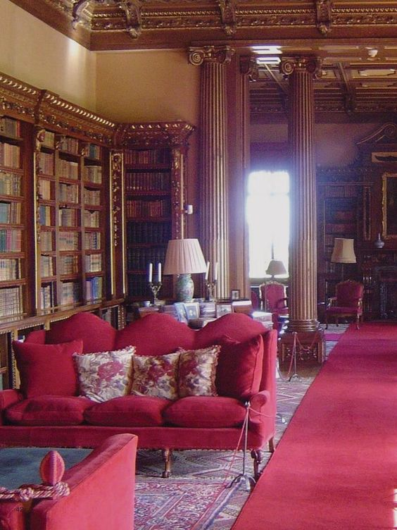 Highclere Castle Downton Abbey Style Interiors Pinterest Furniture England Uk And England