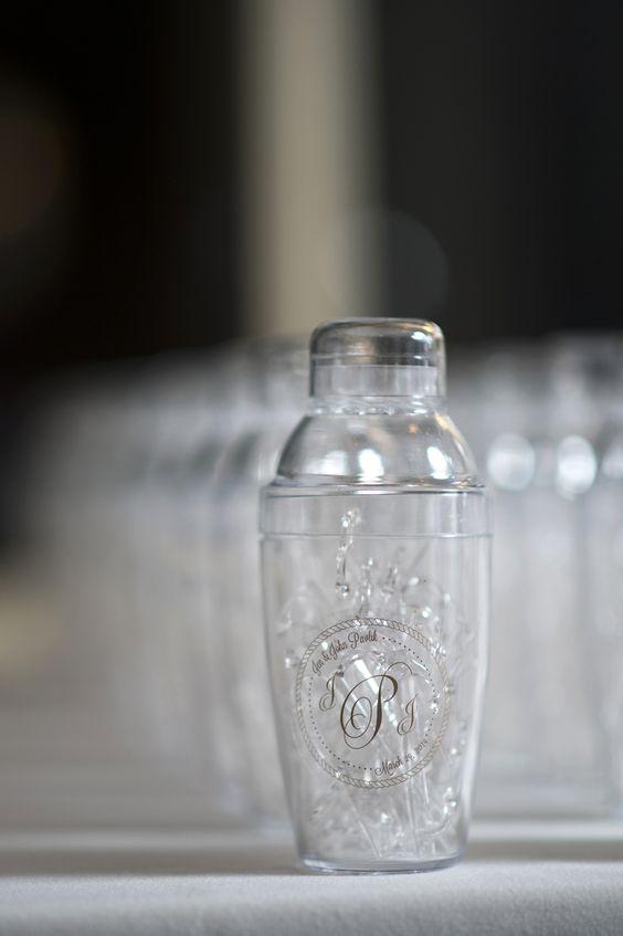 Martini Shaker Favors | Julia Jane Weddings https://www.theknot.com/marketplace/julia-jane-weddings-ct-554452 | A Summer Shop
