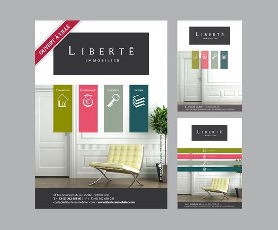 Flyer immobilier recherche google immo pinterest for Salon immobilier entreprise