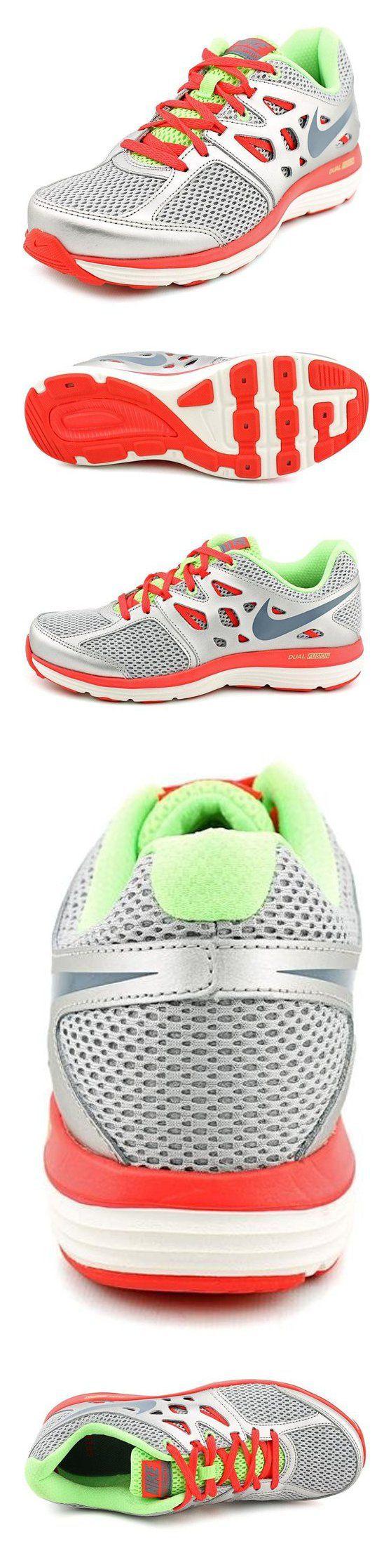 $74.99 - Nike Women's Dual Fusion Lite Grey/Pink/White Running Shoe - 6 B(M) US #shoes #nike #2014