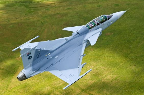 South African air force - SAAB Gripen