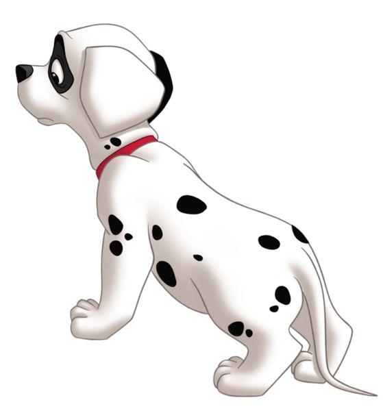 Lucky 101 Dalmatians PNG Clipart Picture