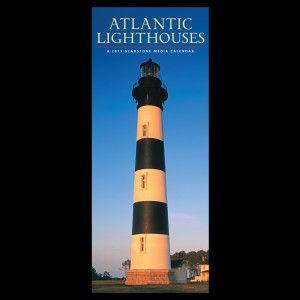 Lighthouse calendar 2013, gotta have one every year.