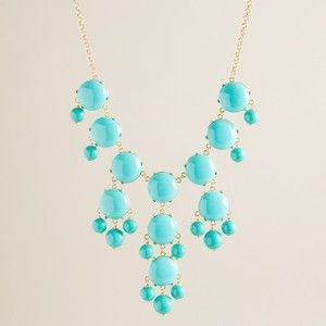 Bubble necklace from J.crew!