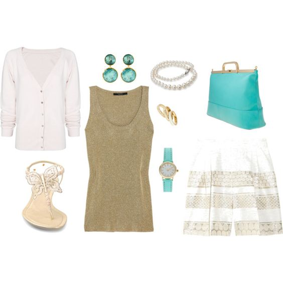 Mint, created by lwelpman on Polyvore