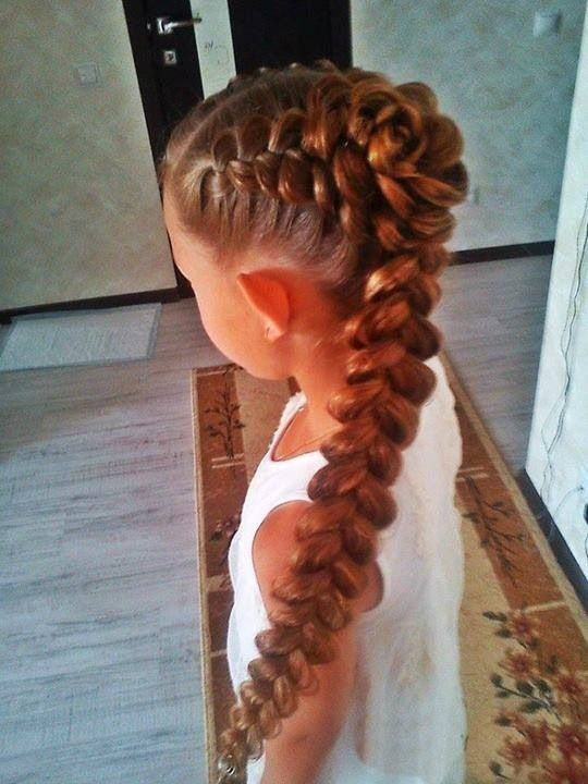 Fine 1000 Images About Alannahs Hair On Pinterest Little Girl Hairstyle Inspiration Daily Dogsangcom