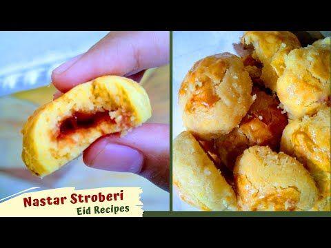 Resep Nastar Enak Irit Isi Selai Stroberi Youtube Di 2020 Makanan Selai Stroberi Nastar