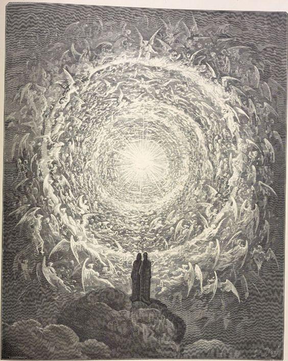 O Paraiso - Divina Comédia de Dante Aleghieri por Gustave Doré