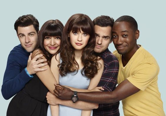 NEW GIRL Season 6 Cast Promo Photos Max Greenfield, Hannah Simone, Zooey…: