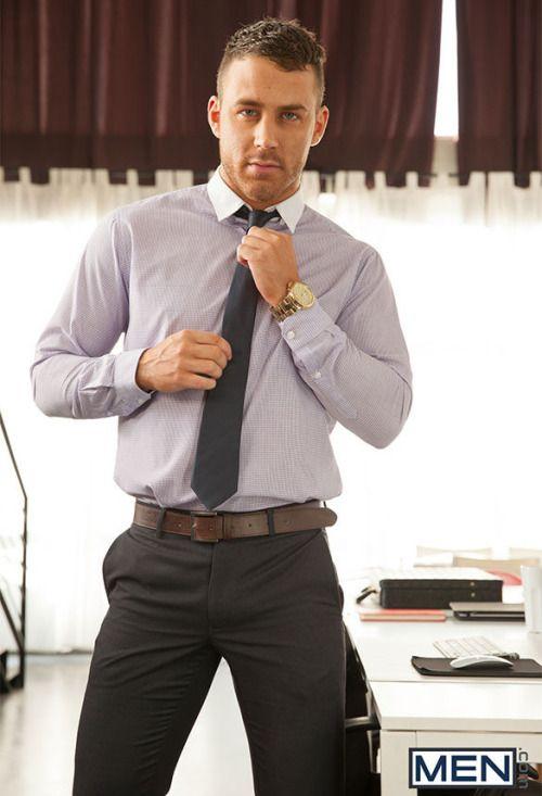 Men Suit Bulge