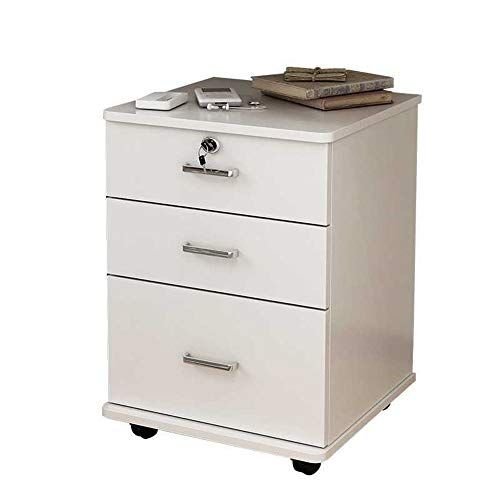 File Cabinet Large Capacity Push Pull Drawer Mobile Iron File Cabinet With Anti Theft Lock Fully Assemble Filing Cabinet Home Office Colors Mobile File Cabinet