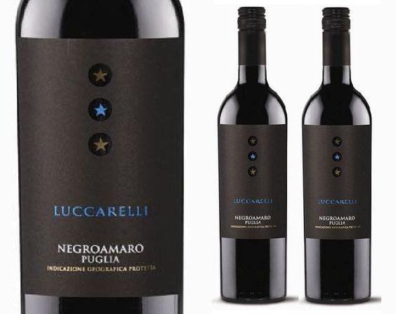 Rượu Vang Luccarelli Negroamaro 13,5% - Chai 750ml - Rượu Vang Nhập Khẩu