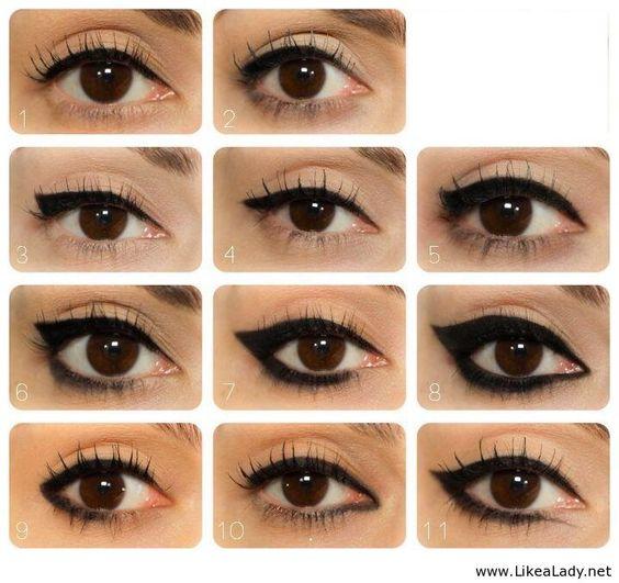 Eye liner ideas