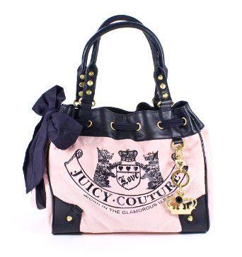 Juicy Couture Old School Daydreamer YHRUO533 (Pink) --- http://www.amazon.com/Juicy-Couture-Scottie-Daydreamer-Handbag-Pink/dp/B0097U21HY/ref=sr_1_4/?tag=telexintertel-20