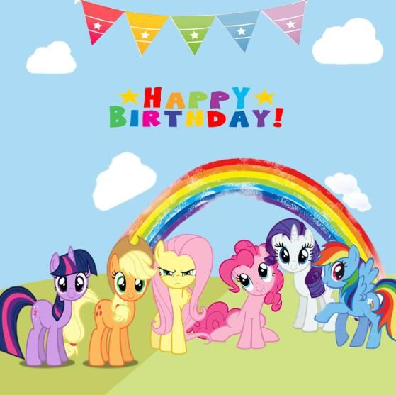 Image for My Little Pony Birthday Background | My little pony ...
