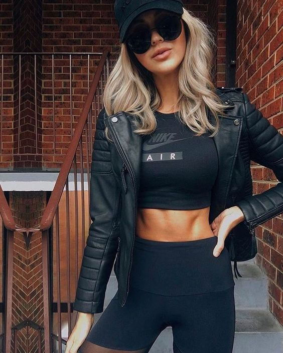Woman All Black Outfits #woman #fashionoutfits #blackoutfit #fashiontrends #fashion #dressesforwomen #blackfashionblogger #blackfashion #fashiontrends2019