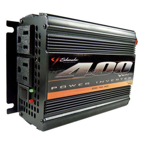 Schumacher Pi 400 Power Inverter 400 Watts 115 Volts In 2020 Power Inverters Ac Power Portable Power