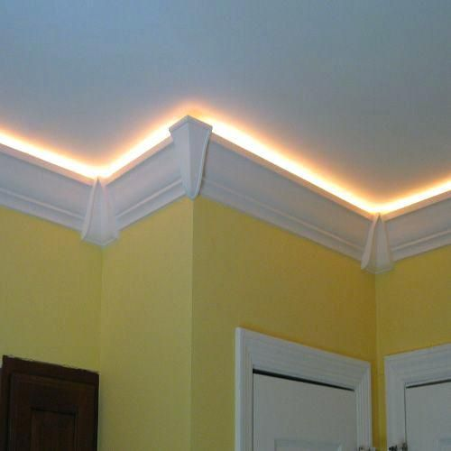 Tray Ceiling Rope Lighting Crown Molding Lights Ceiling Crown