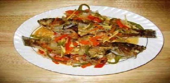 Kenyan Ngege!  Best Tilapia recipe ever.