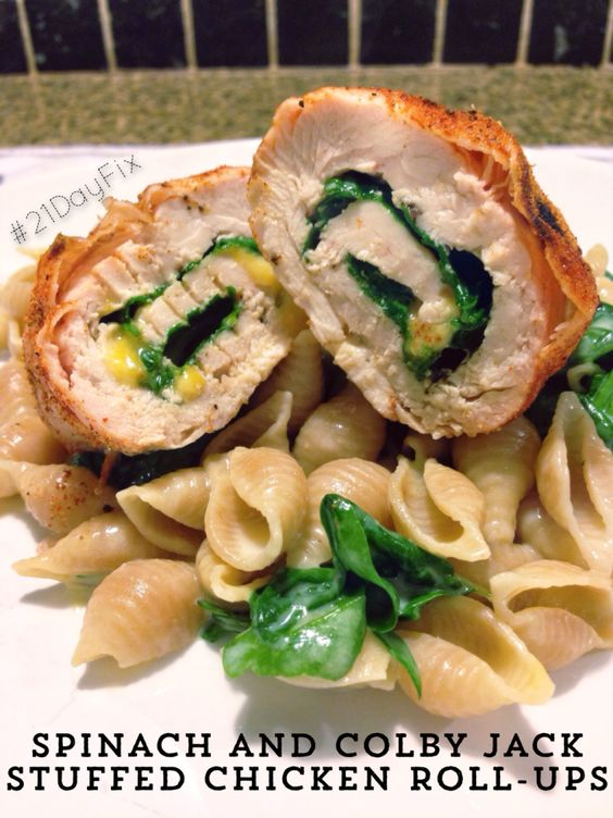 how to cook a stuffed chicken roll