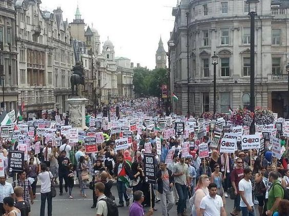 Free Palestine in London