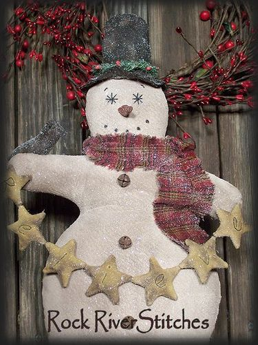Primitive Snowman | Flickr - Photo Sharing!