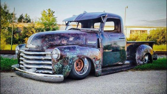 Rust Buckets Rust Gives Character To This Old Truck 54 Chevy