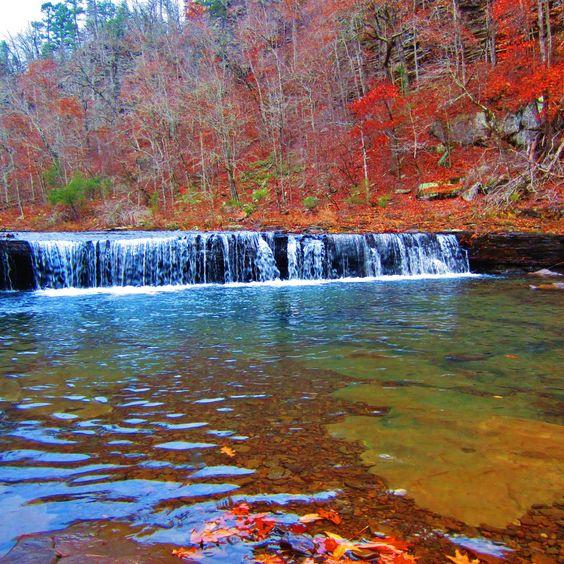 Suzy Jimmy Falls, Richland Creek Wilderness, Arkansas