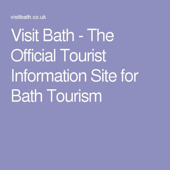 Visit Bath - The Official Tourist Information Site for Bath Tourism