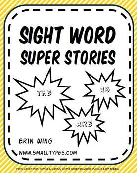 Practice sight words and other common words through super hero-themed creative writing activities. Free!