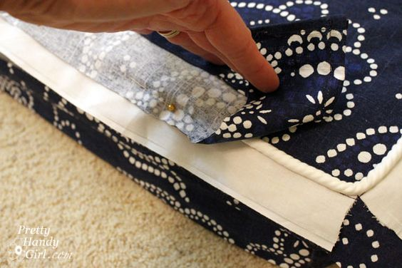 How To Make Removable Throw Pillow Covers With Velcro Closure : Pinterest The world s catalog of ideas