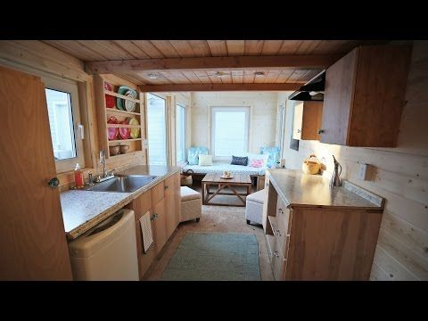 The Wild Rose Amazing 24 Tiny House on Wheels Tour YouTube