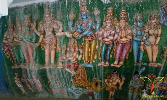 Srikalahasti Chaturmukeshvara Swamy Temple Devatas