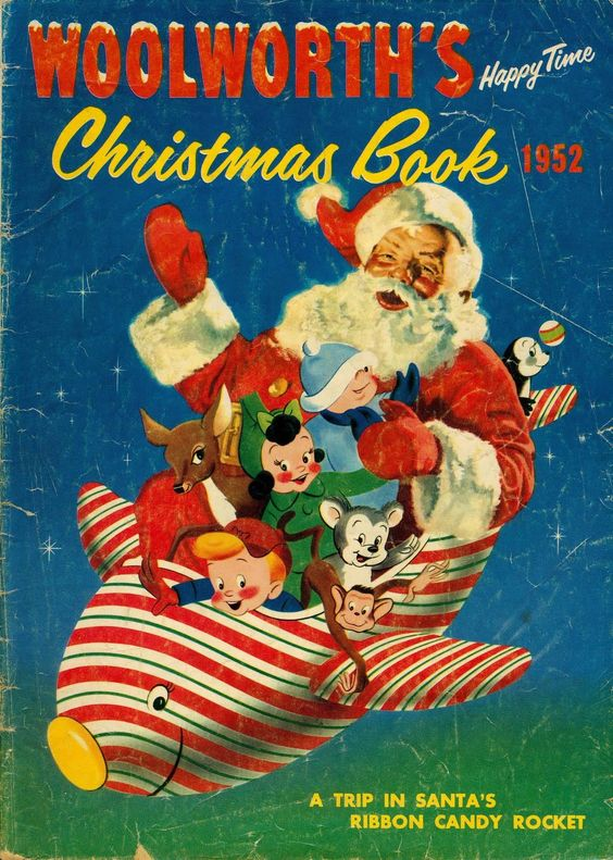 1952 WOOLWORTH 5 AND DIME    CHRISTMAS BOOK