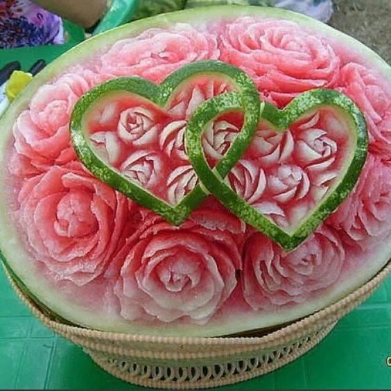 Watermelon roses