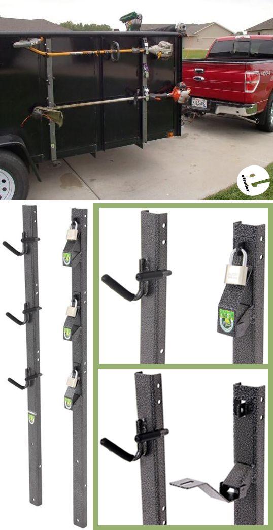 Pack Em Trimmer Rack For Utility Trailers Packem Trailer Cargo