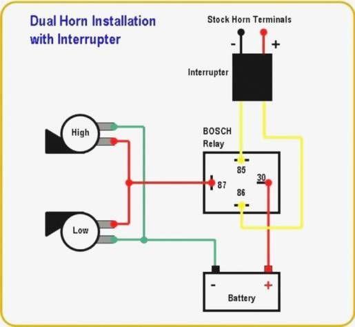 18 Motorcycle Light Diagram In 2021 Car Horn Motorcycle Wiring Electrical Circuit Diagram